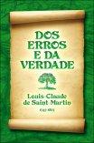 Dos Erros e da Verdade - Louis-Claude de Saint-Martin