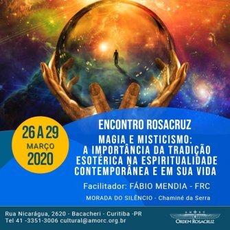 Magia e Misticismo - 26 a 29 de março